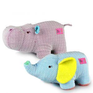 GIGGLES HIPPO & ELEPHANT