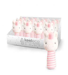 STICK RATTLES UNICORN (KEELECO BABY)