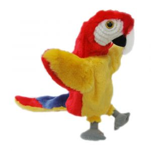 RED PARROT (LTAIL PUPPET)