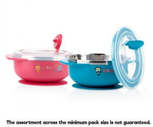 Suction Bowl SS (Nuby) (D)