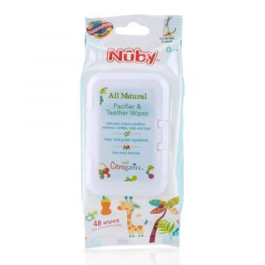 Pacifier Teether Wipes (Nuby) (D)