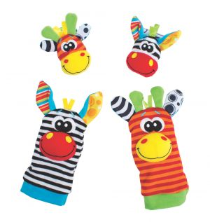 Jungle Wrist Rattle and Foot Finder