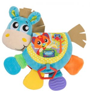 Musical Clip Clop Teether Book