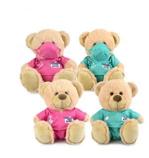 BUDDY DOCTORS/NURSES 23CM