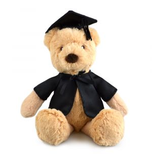 GRADUATION BEAR (FRANKIE)
