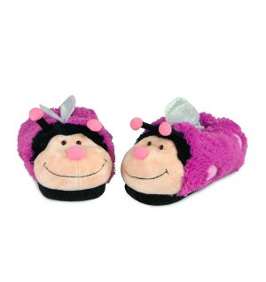 SLIPPERS BUTTERFLY PINK (D)