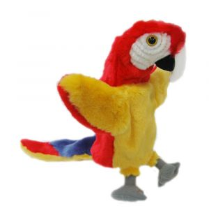 RED PARROT L/TAIL  PUPP