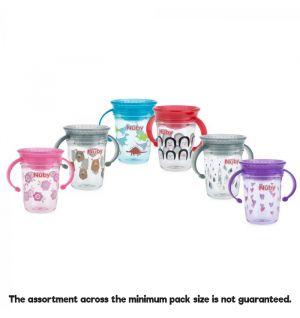 Nuby Tritan Twin 360 Cup 240ml